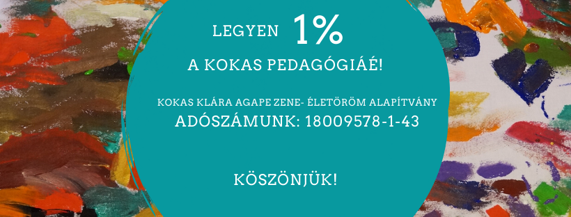 1% Kokas-pedagógiának